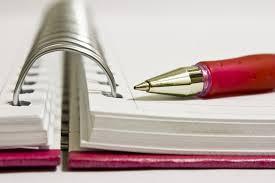 escreva sua metas