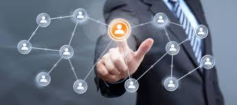 negocio de marketing de Rede